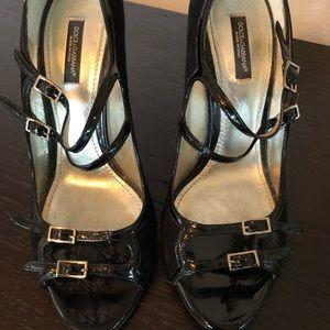 Dolce Gabbana strapped pumps